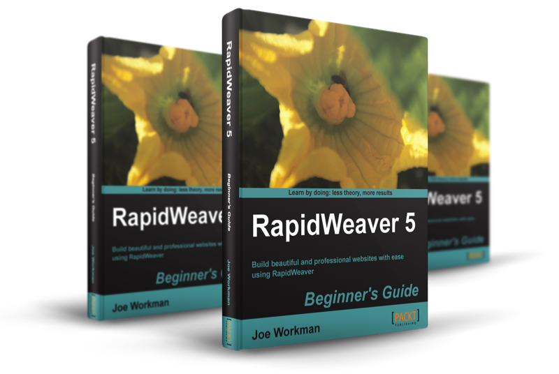 Rapidweaver Book by Joe Workman